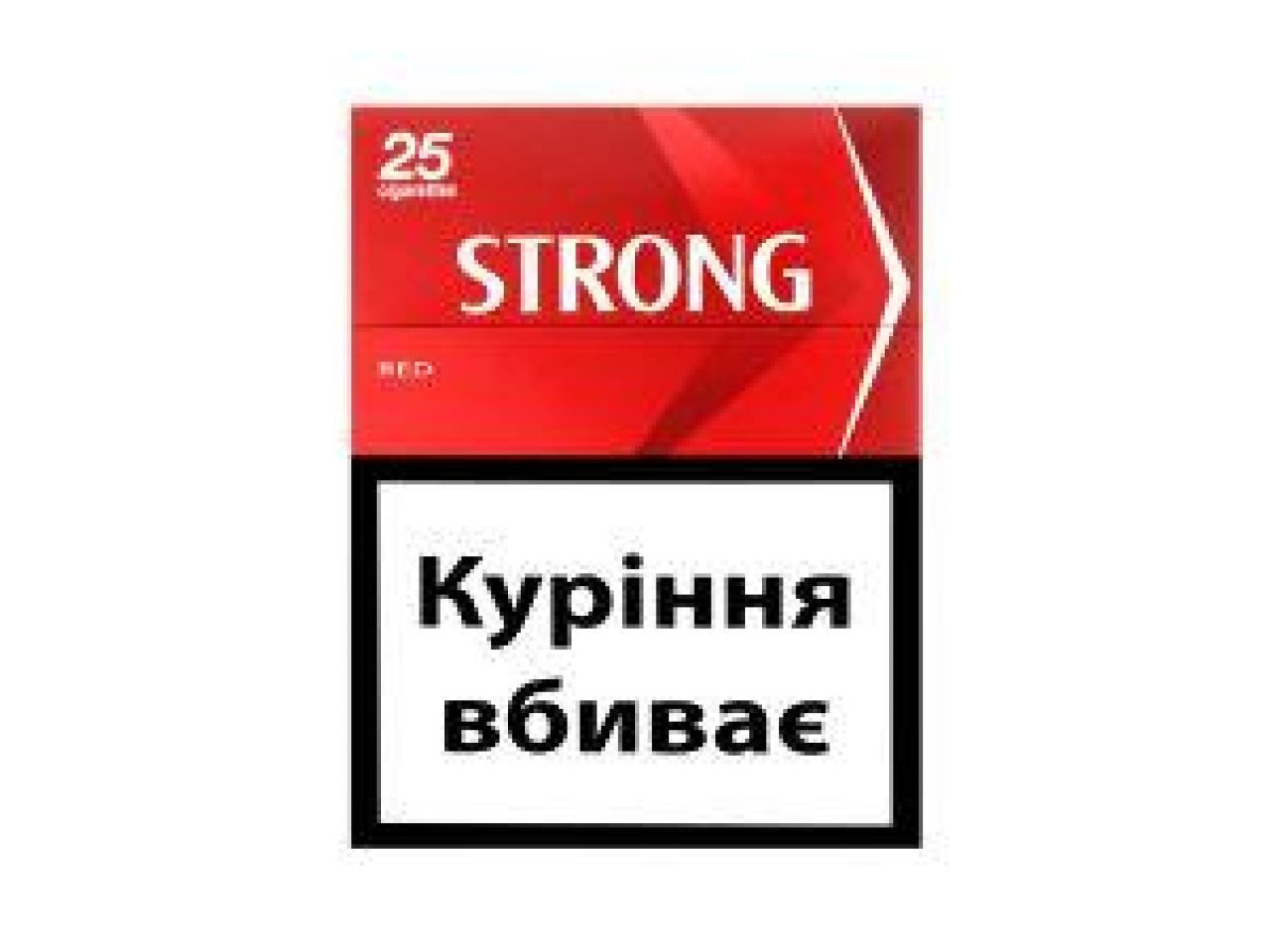 Сигареты Strong - 2