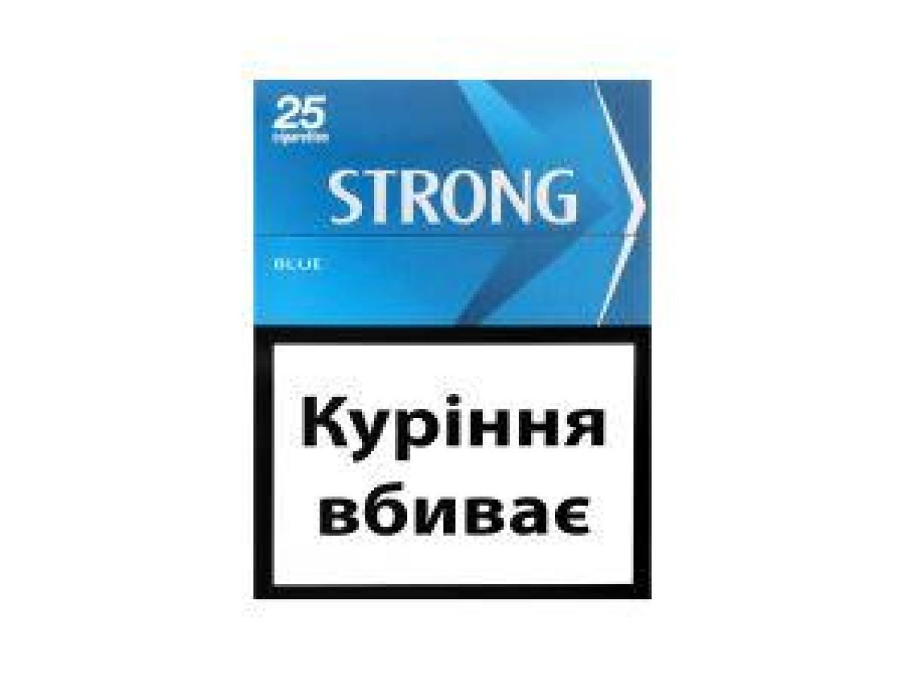 Сигареты Strong - 3