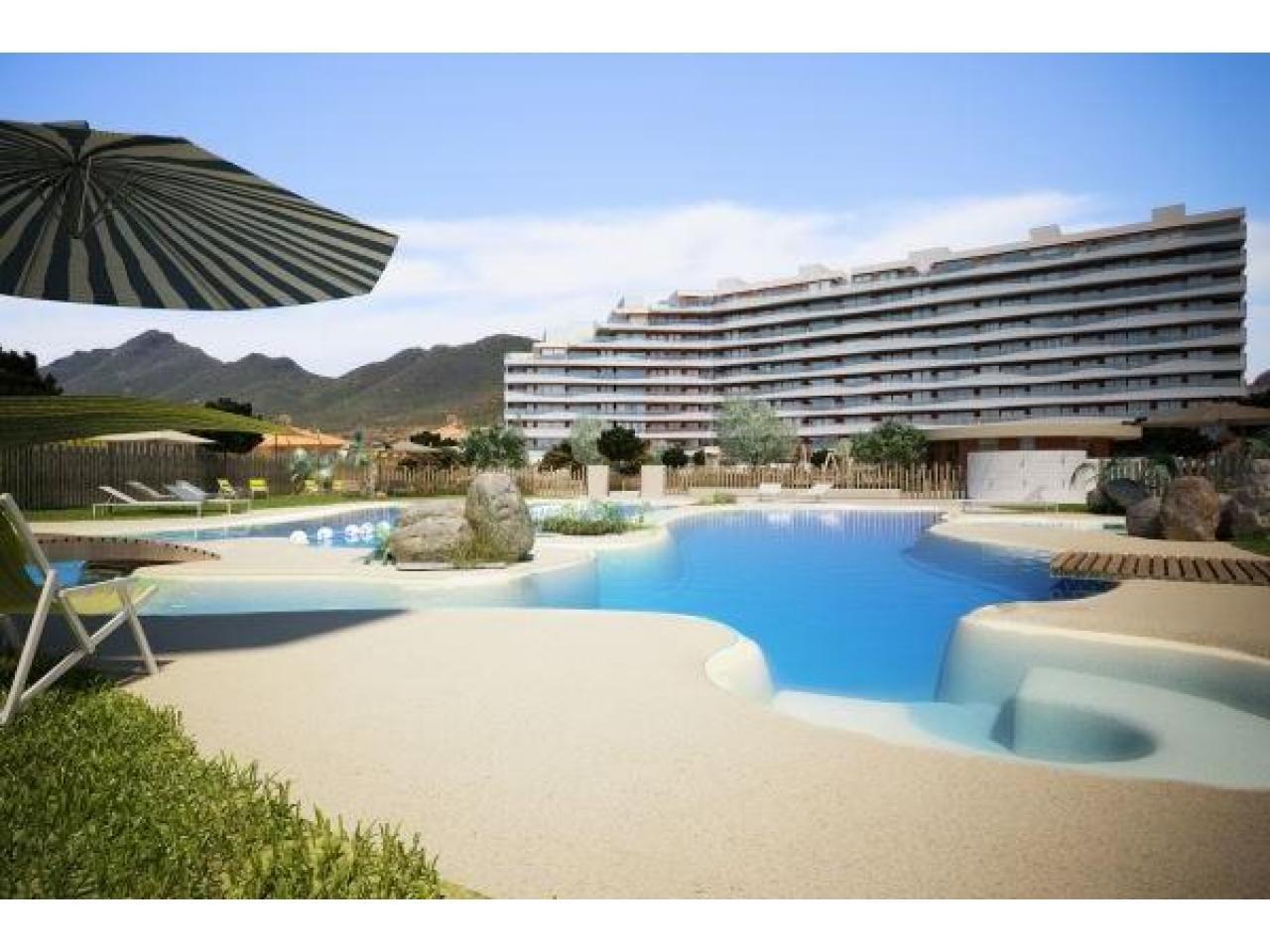 Недвижимость в Испании, Новые квартиры на первой линии пляжа от застройщика в Ла Манга - 3