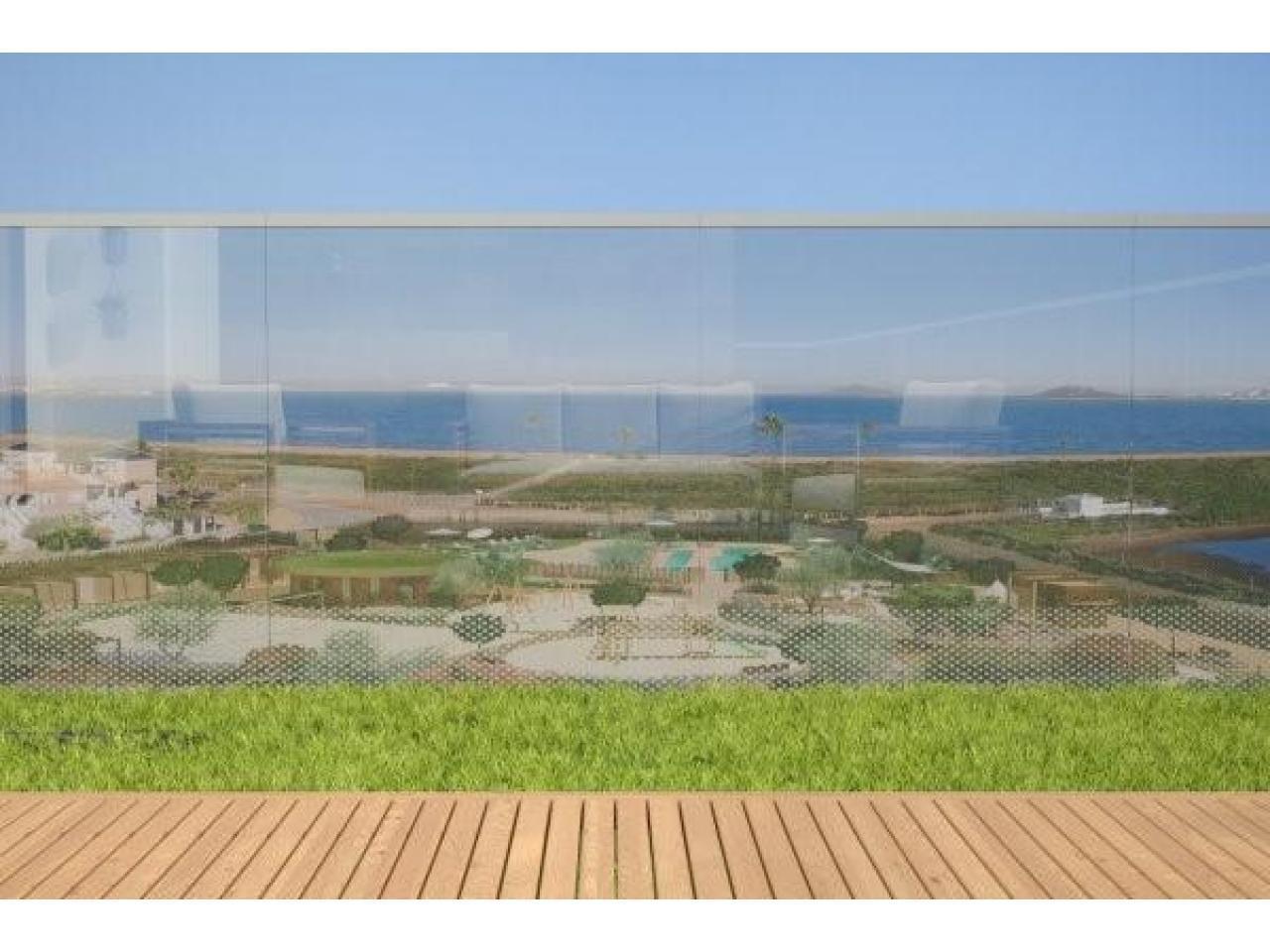 Недвижимость в Испании, Новые квартиры на первой линии пляжа от застройщика в Ла Манга - 10