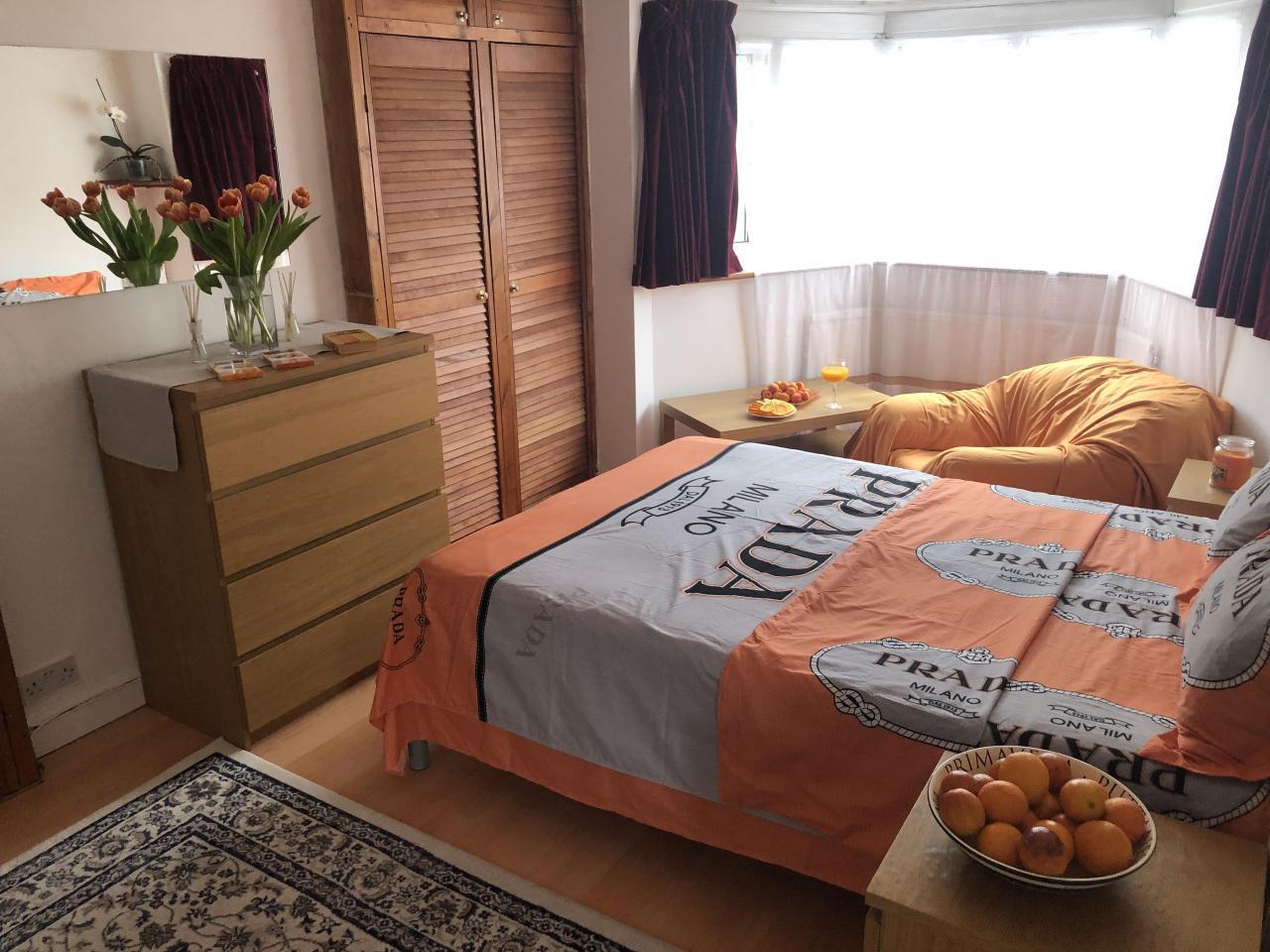 Сдаётся двухспальная (double) комнатa в малонаселённом доме в районе     Tooting. - 3