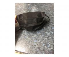 защитная маска для лица , черная. - Image 3