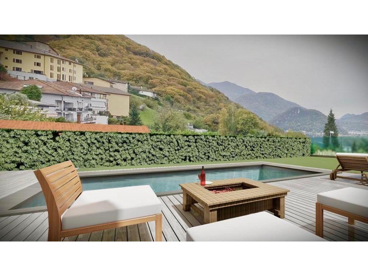Продается эксклюзивная вилла в Лугано, Collina d'Oro - 2