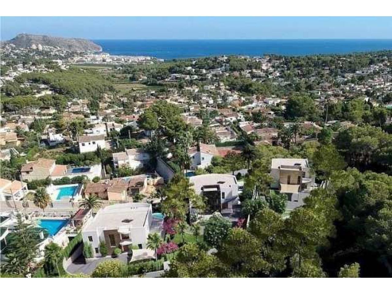 Недвижимость в Испании, Новая вилла с видами на море от застройщика в Морайра,Коста Бланка,Испания - 4
