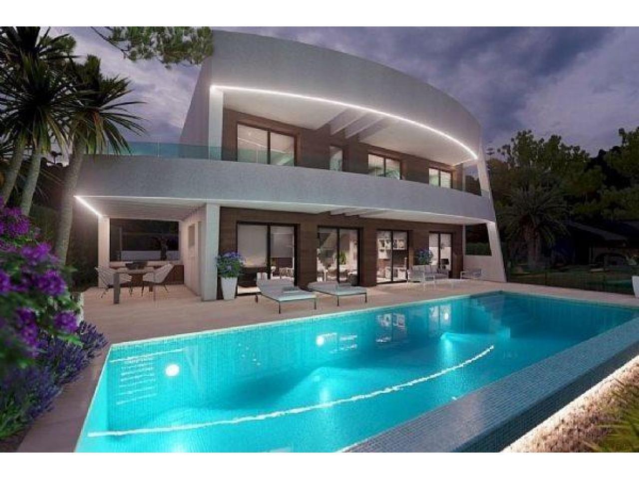 Недвижимость в Испании, Новая вилла с видами на море от застройщика в Морайра,Коста Бланка,Испания - 6