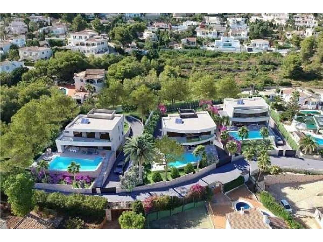 Недвижимость в Испании, Новая вилла с видами на море от застройщика в Морайра,Коста Бланка,Испания - 7