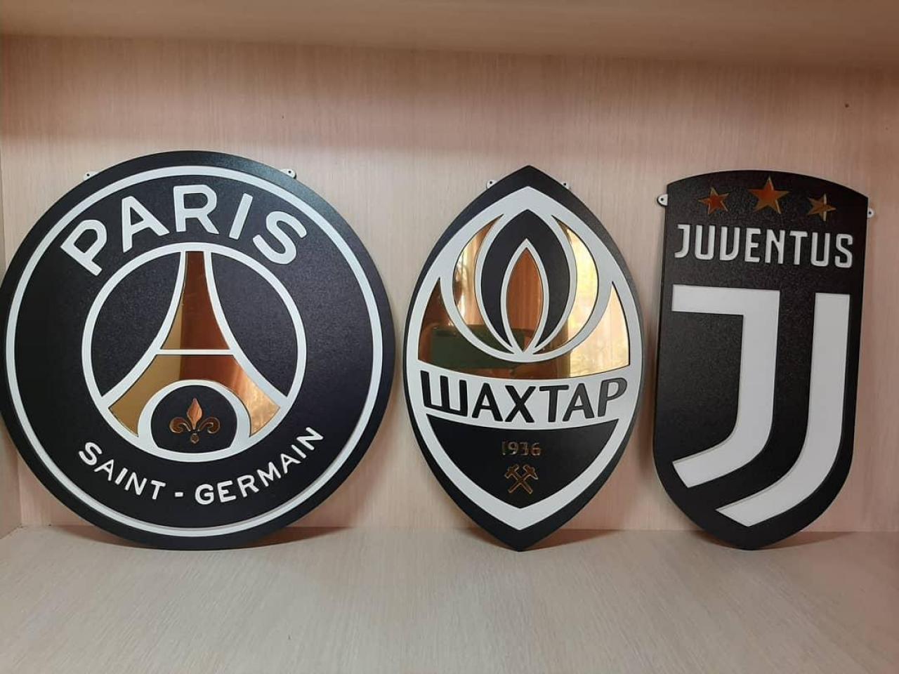3D эмблемы  клубов - 3