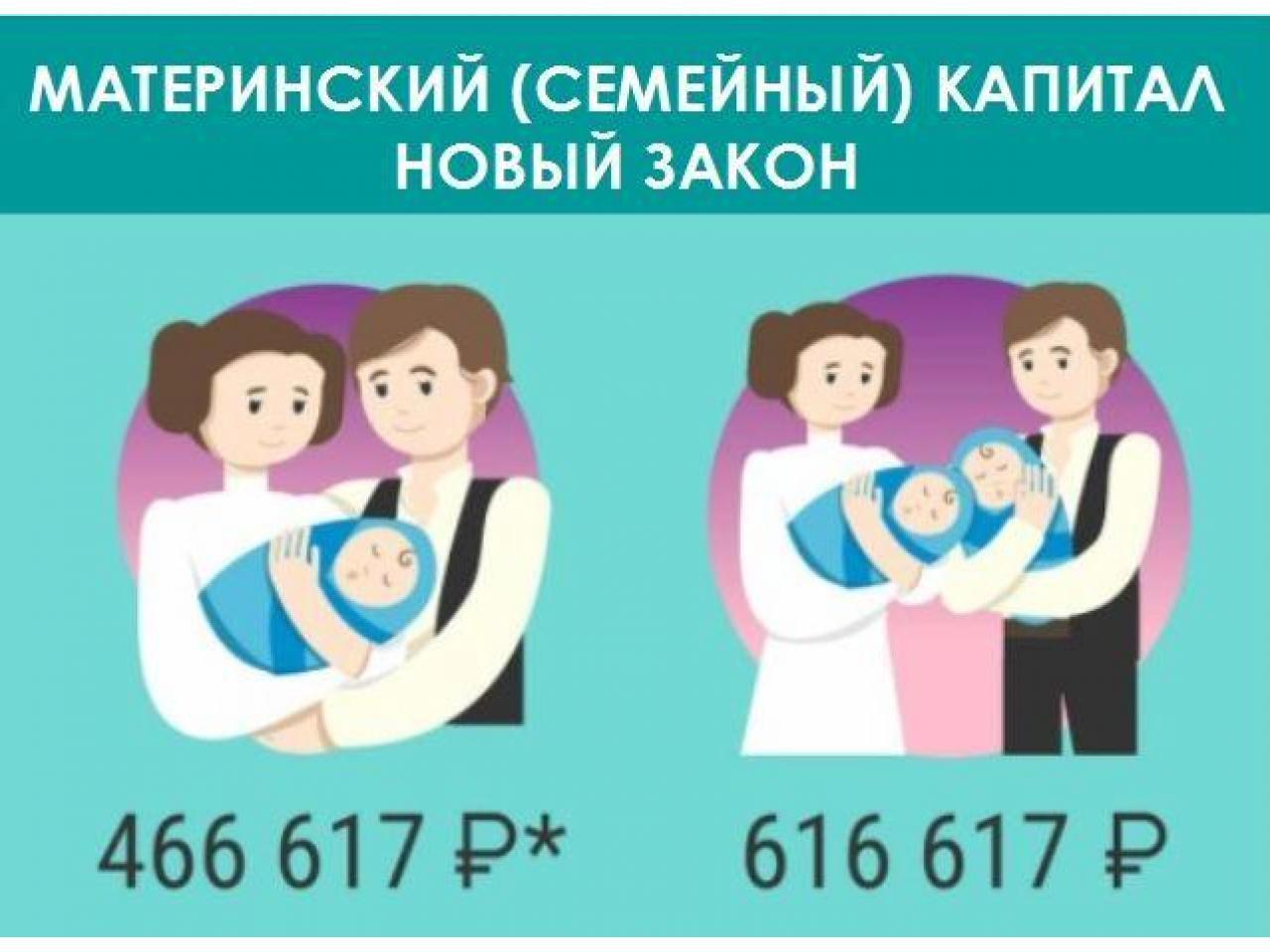 Сертификат на материнский капитал  для ребенка гражданина России! - 1