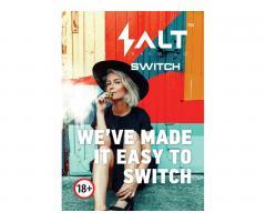распространение и продажa новых одноразовых вейпов «salt switch». - Image 1