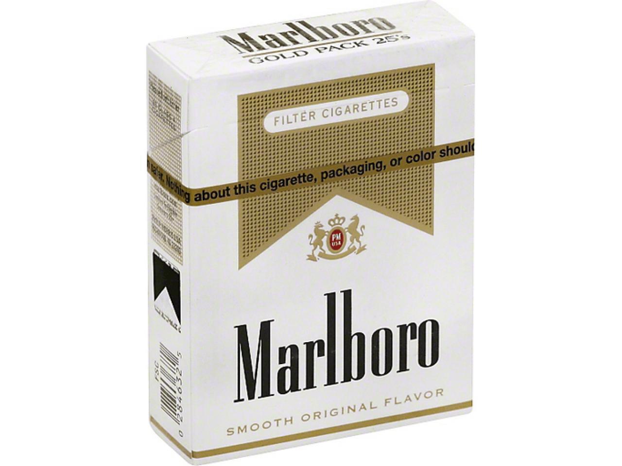 Сигареты Мальборо Голд - 1
