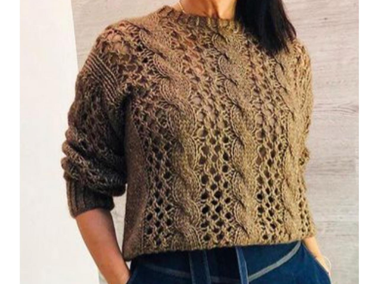 Джемпера и пуловеры ручной работы - 1