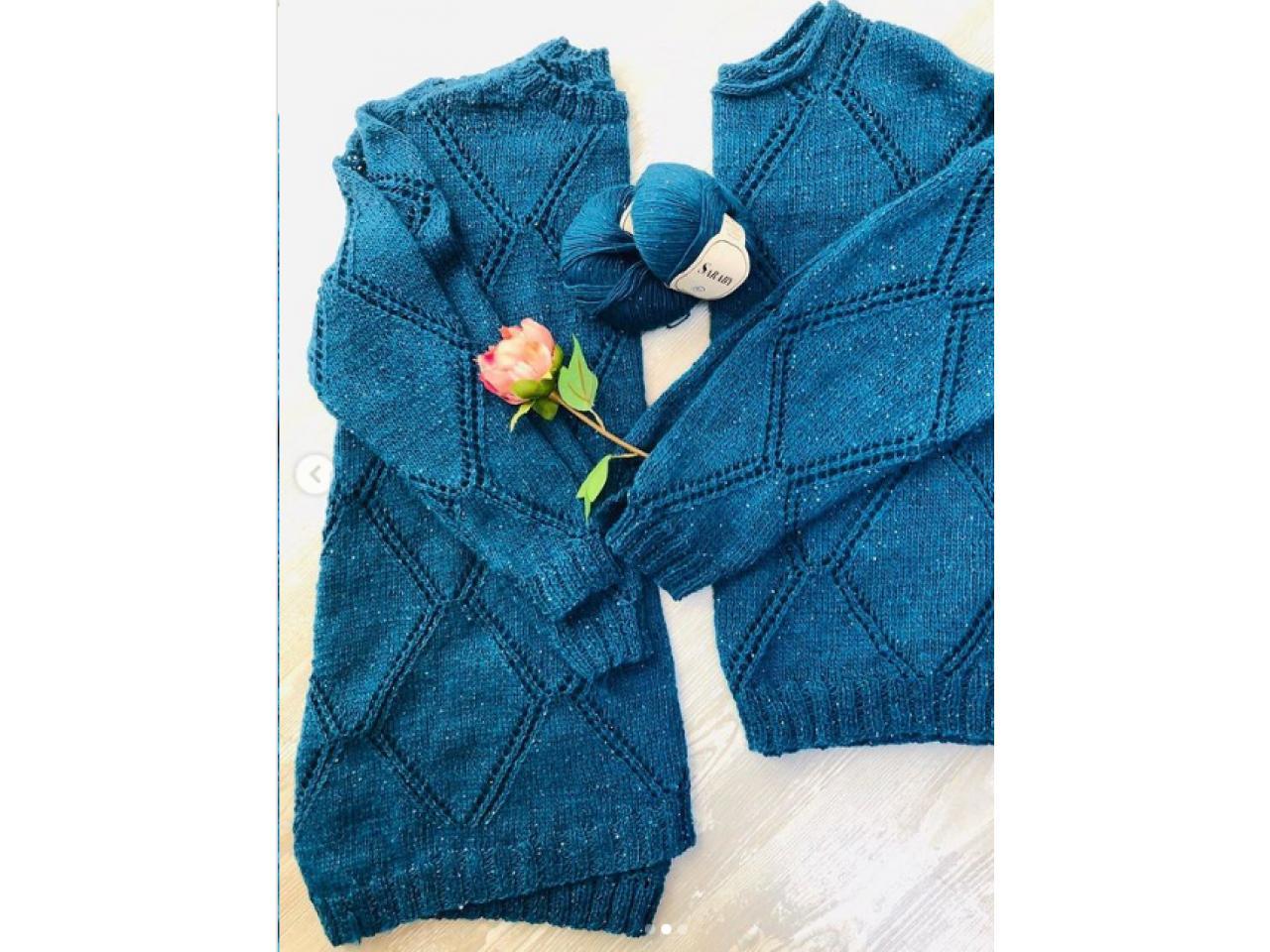 Джемпера и пуловеры ручной работы - 2