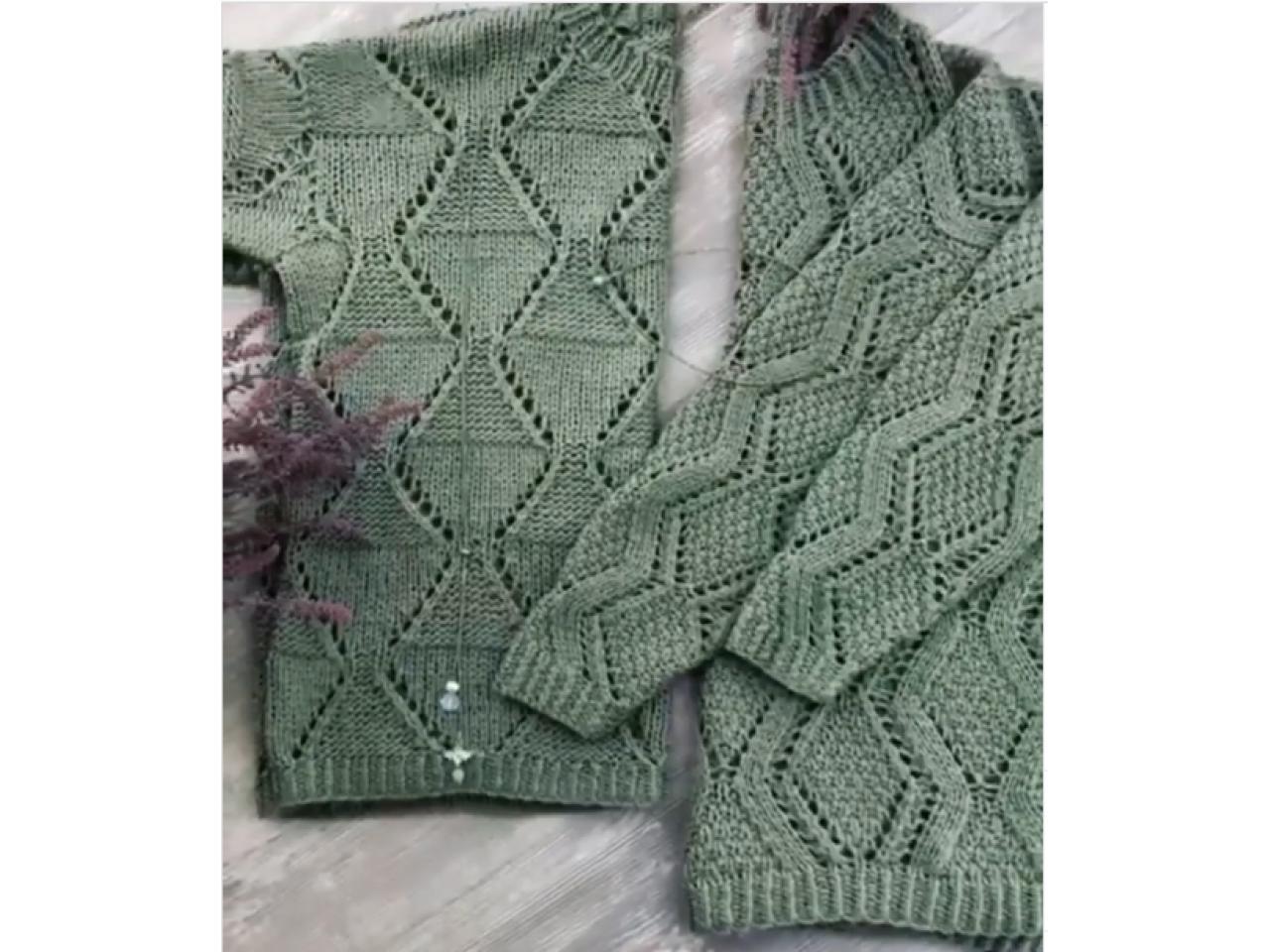 Джемпера и пуловеры ручной работы - 3