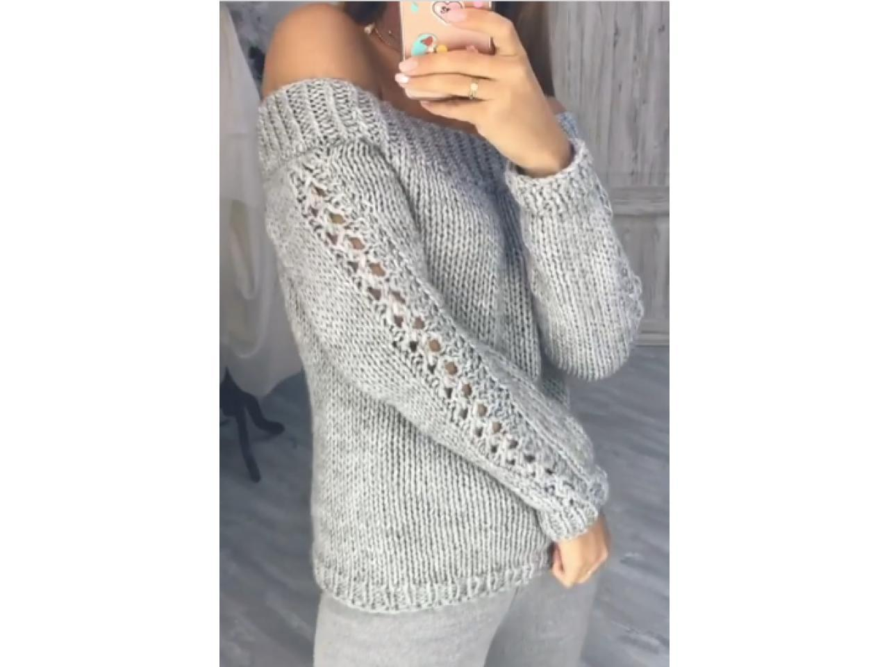 Джемпера и пуловеры ручной работы - 4