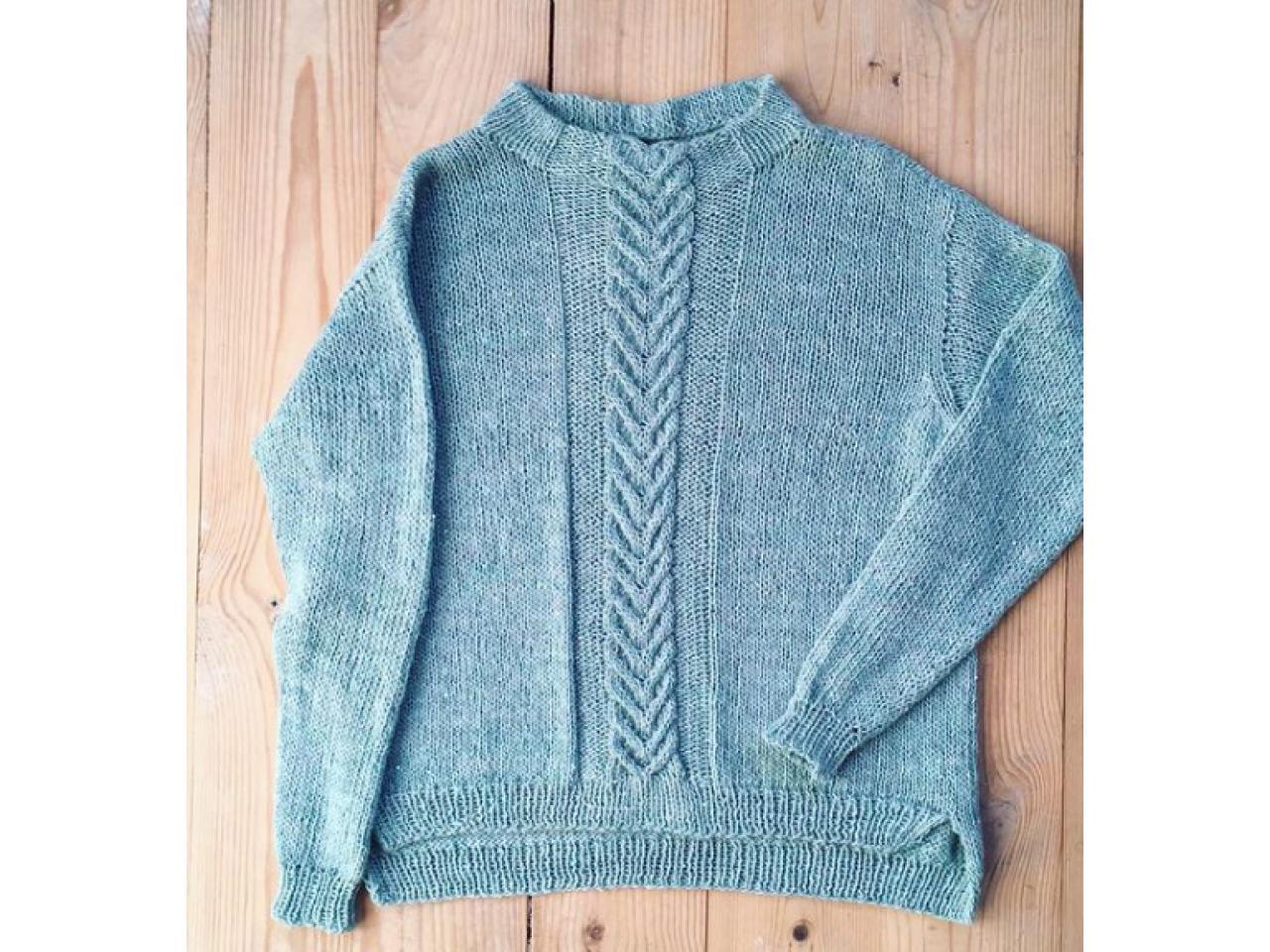 Джемпера и пуловеры ручной работы - 8