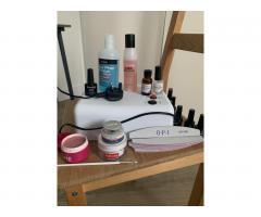 UV lamp для ногтей 36 ватт и набор для покрытия - Image 5