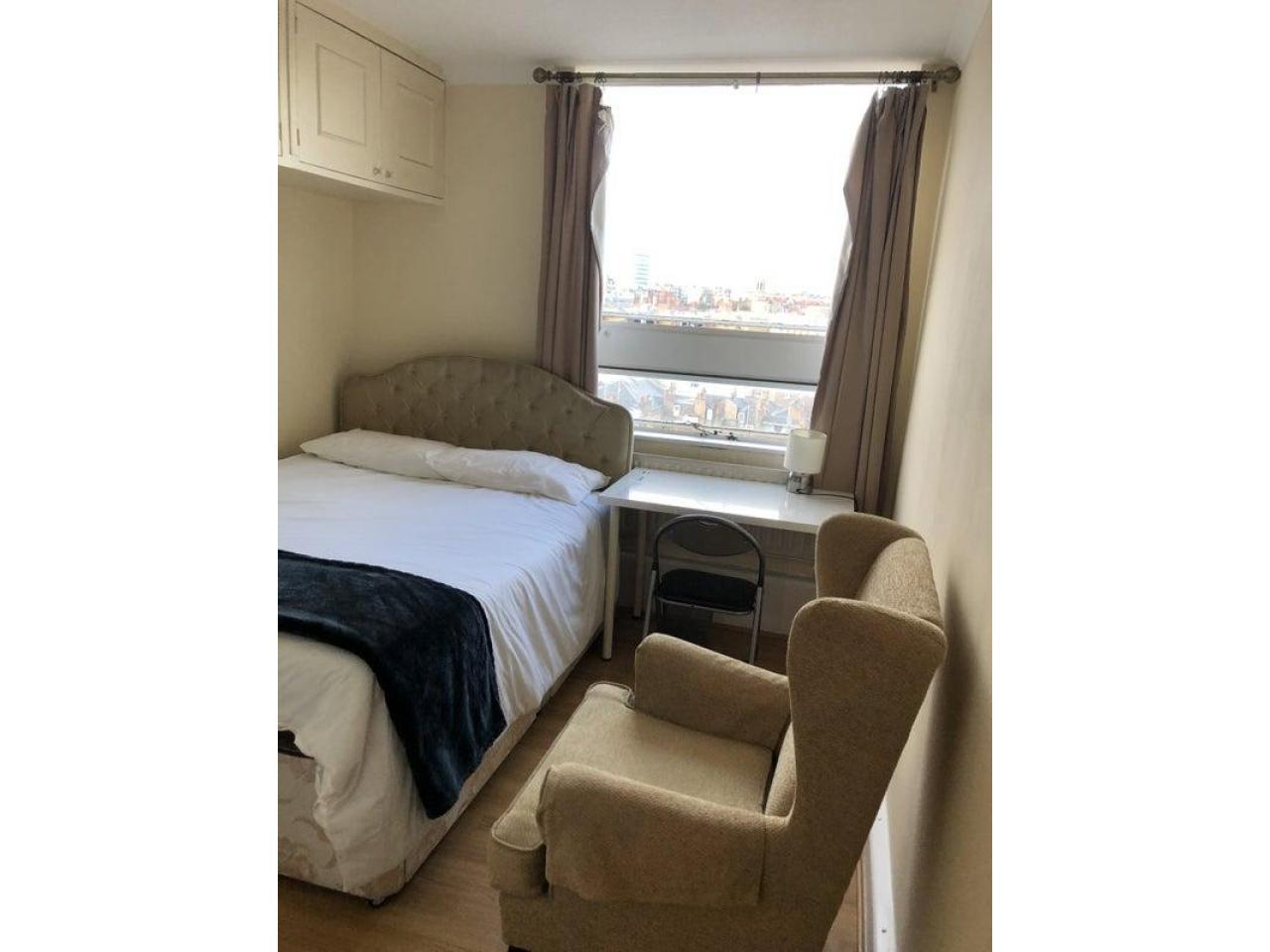 £185 Современная большая двухместная комната - 4