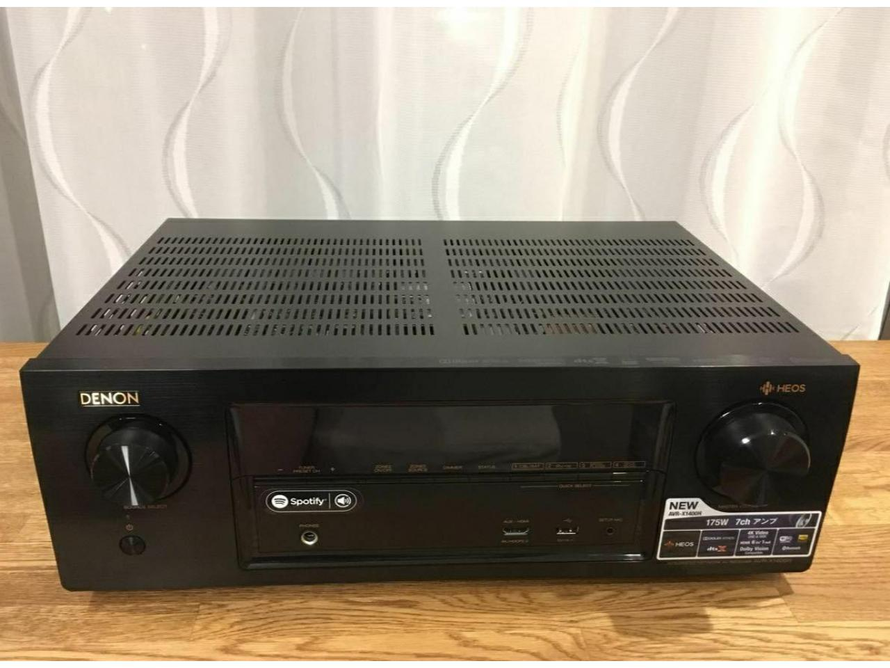Ресивер AV Denon AVR-X1400H - 3