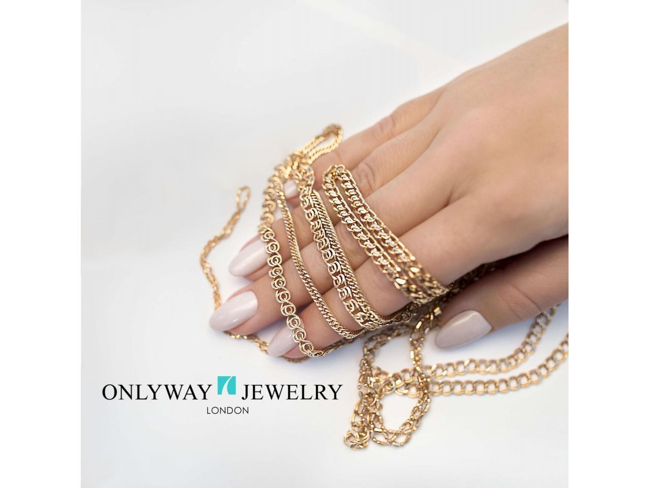Золотые цепи и браслеты в Лондоне - 1