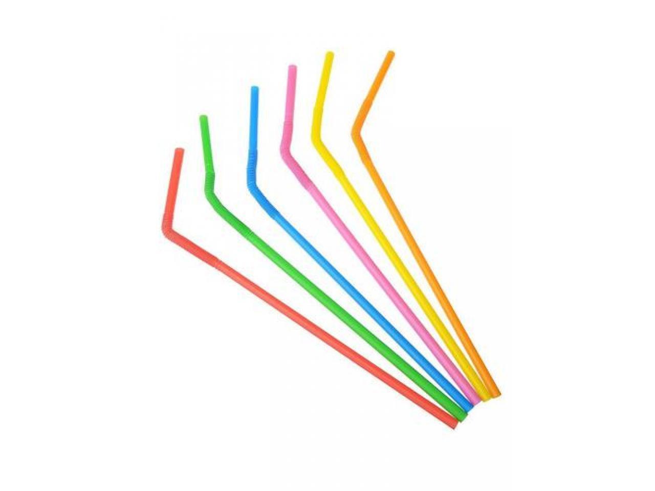 Трубочки пластиковые - 1