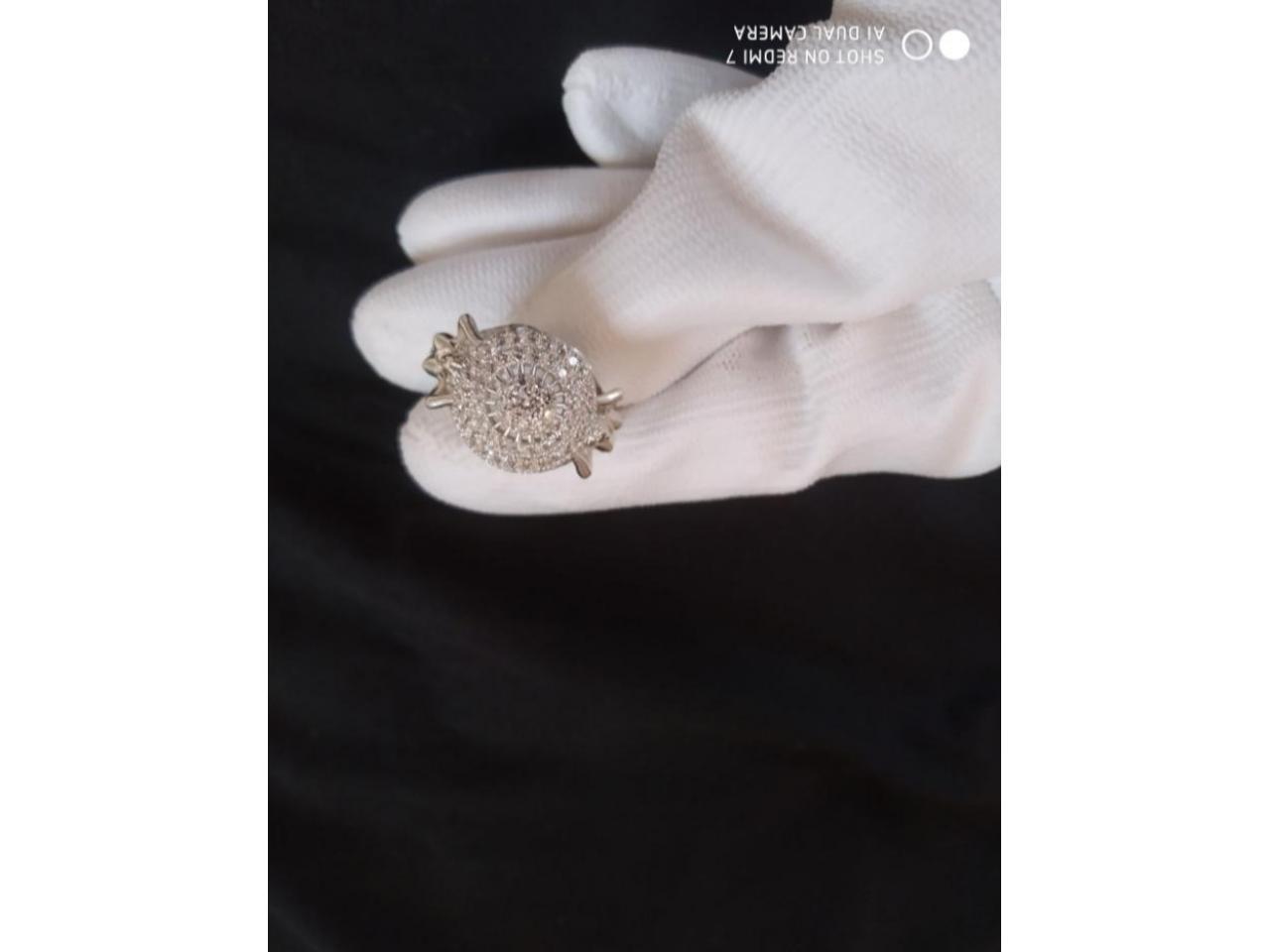 Кольцо эксклюзивное серебро - 2