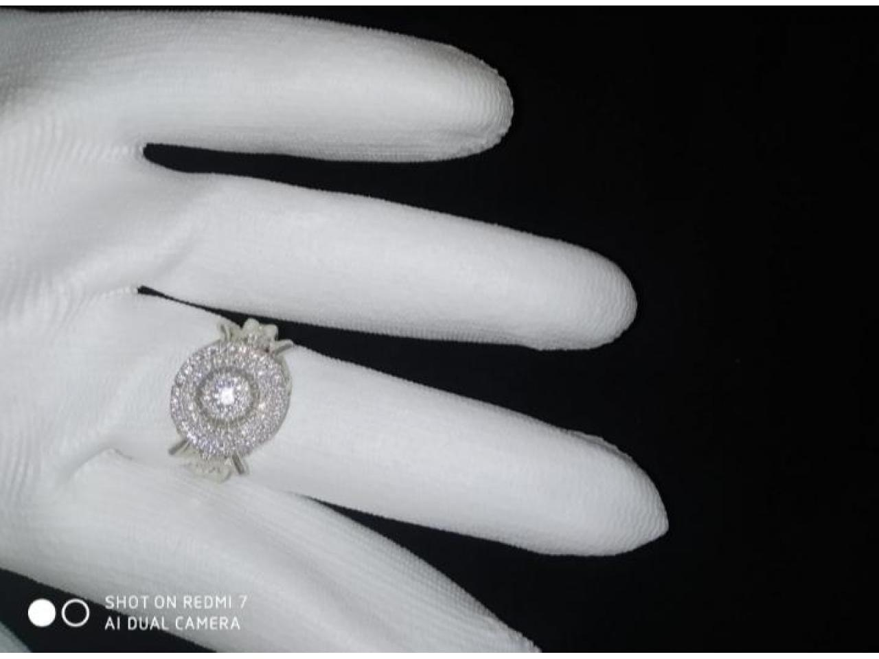 Кольцо эксклюзивное серебро - 6