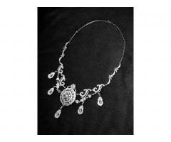 Эксклюзивное ожерелье и брослет серебро 925 пробы - Image 1