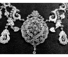 Эксклюзивное ожерелье и брослет серебро 925 пробы - Image 2