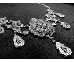 Эксклюзивное ожерелье и брослет серебро 925 пробы - Image 3