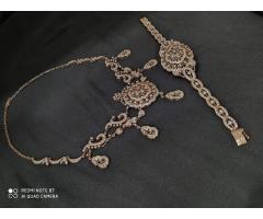 Эксклюзивное ожерелье и брослет серебро 925 пробы - Image 4