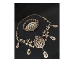 Эксклюзивное ожерелье и брослет серебро 925 пробы - Image 5