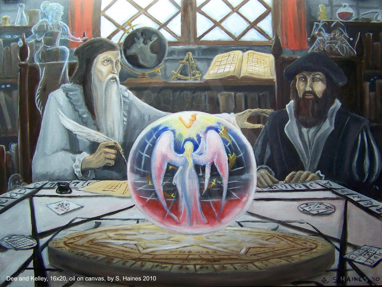 Абсолютная Магия. Специалист Высшей и Енохианской Магии. - 1