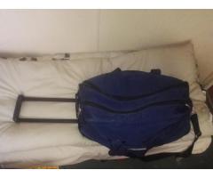 Дорожная сумка- ручная кладь,2 рабочие сапоги, спальный мешок, постельный комплект - Image 1