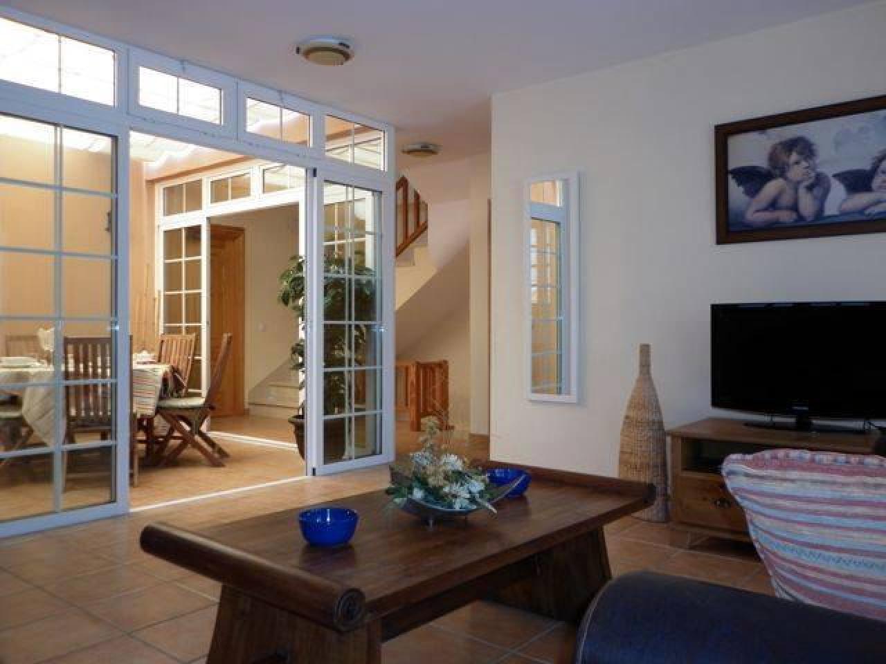 The villa is located in a private urbanization of La Caleta in Costa Adeje - 2