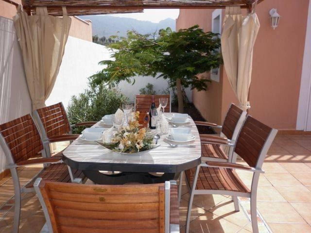 The villa is located in a private urbanization of La Caleta in Costa Adeje - 3