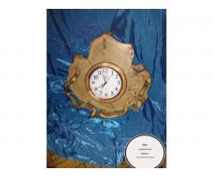 Часы из можжевельника тополя ручной работы - Image 4