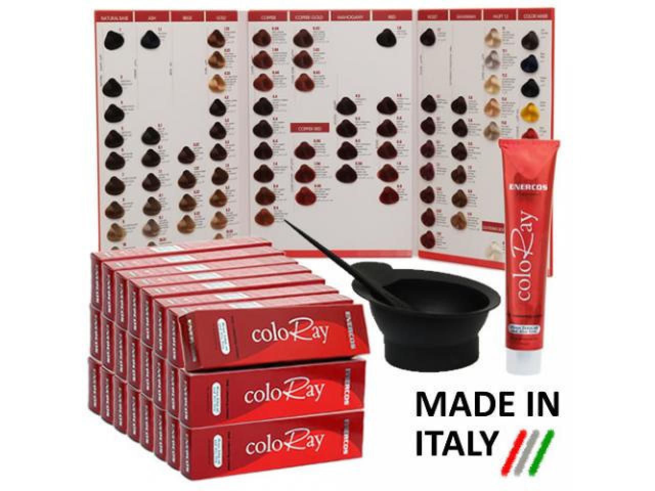 """Набор 36 """"coloray"""" крем-красoк для волос £129 - 1"""