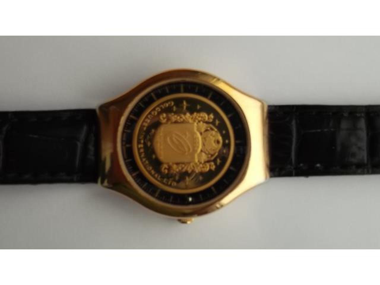 Numismatic masterpiece.Luxurious und innovative timepiece - 1