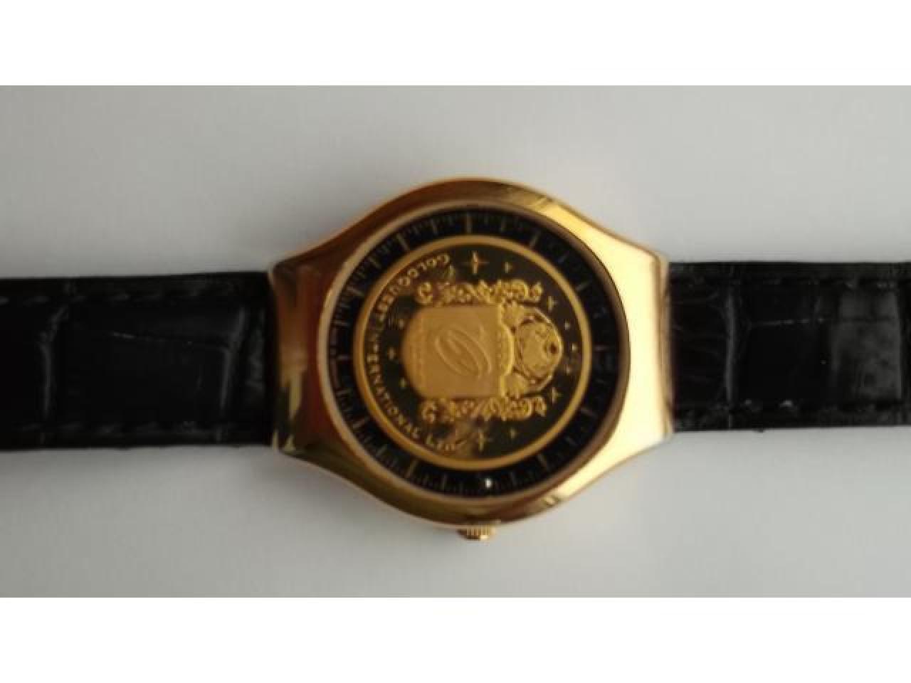 Numismatic masterpiece.Luxurious und innovative timepiece - 2