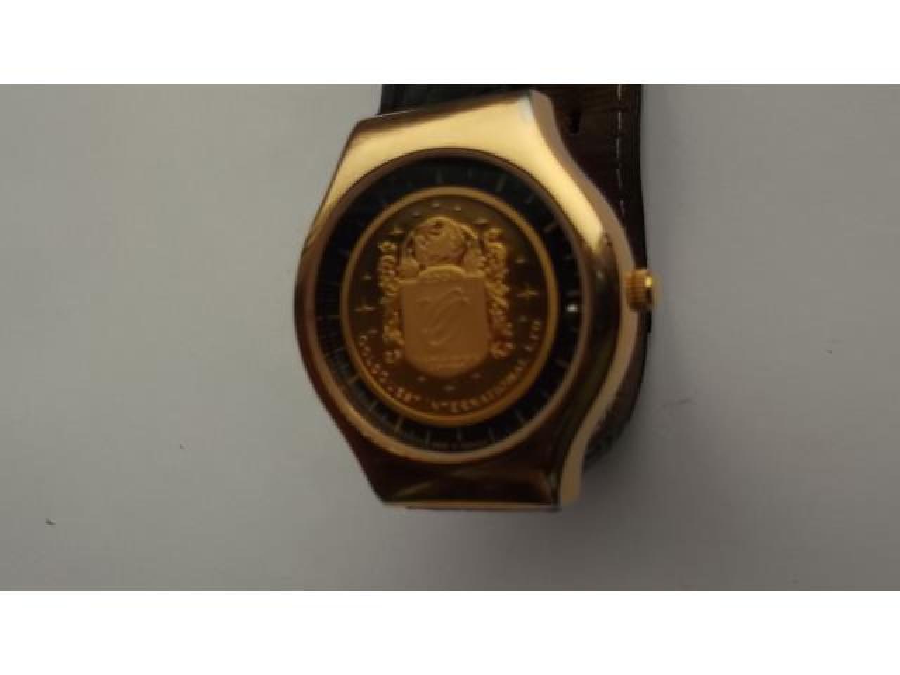 Numismatic masterpiece.Luxurious und innovative timepiece - 4