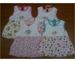 Детское платье на девочек 6-9 месяцев, разные цвета.