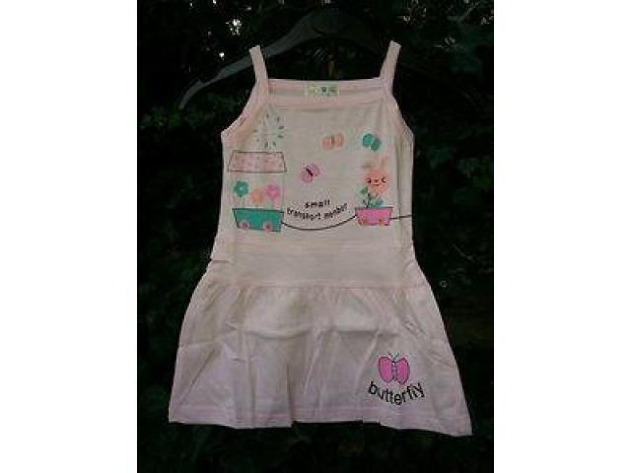 Новое платье на девочек 6-9 месяцев - 1