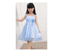 Элегантное шифоновое платье на девочку 4-5 лет