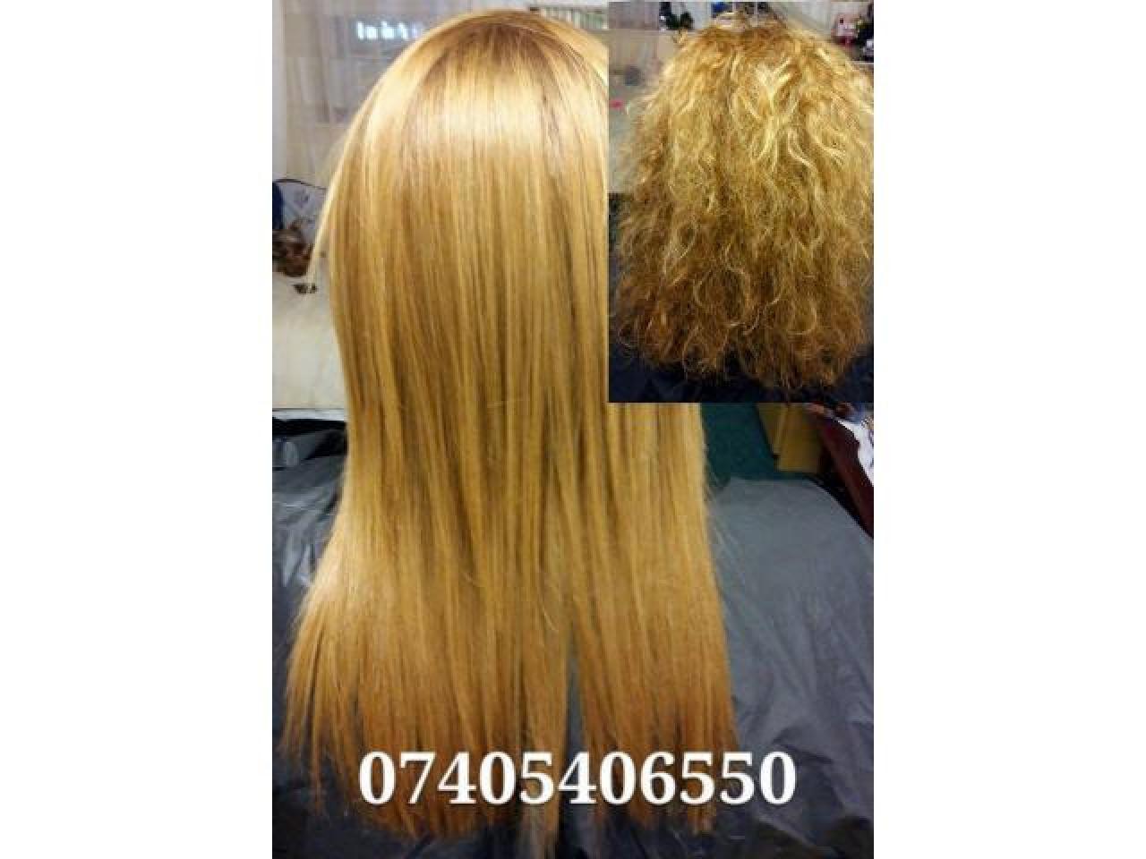 Выпрямление и восстановление волос - 1