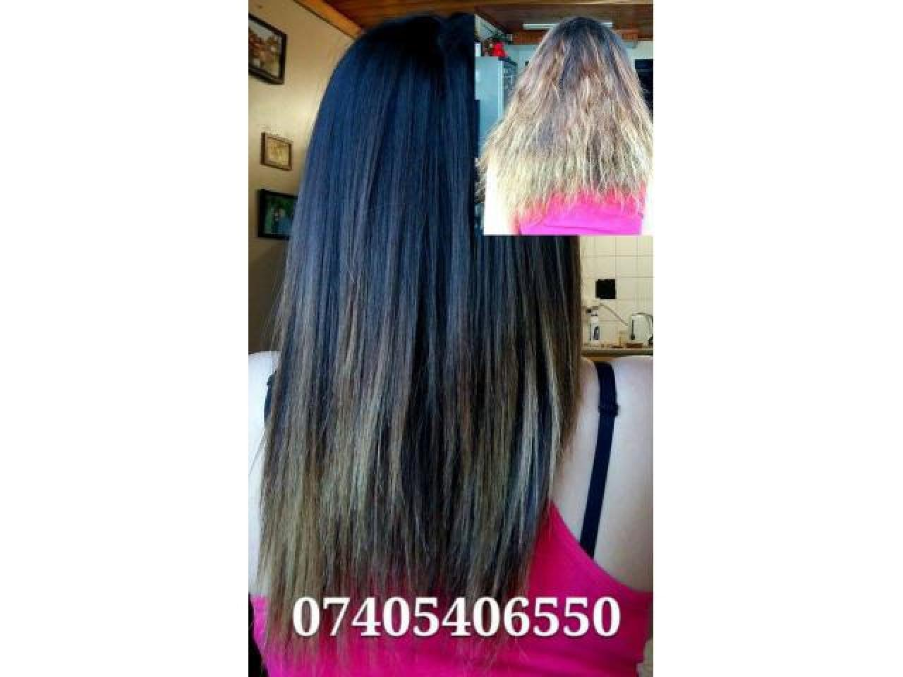 Выпрямление и восстановление волос - 3