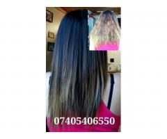 Выпрямление и восстановление волос