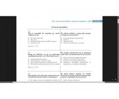 Продам книгу CSCS тест для operatives and specialists. Вопросы с ответвми с русским переводом