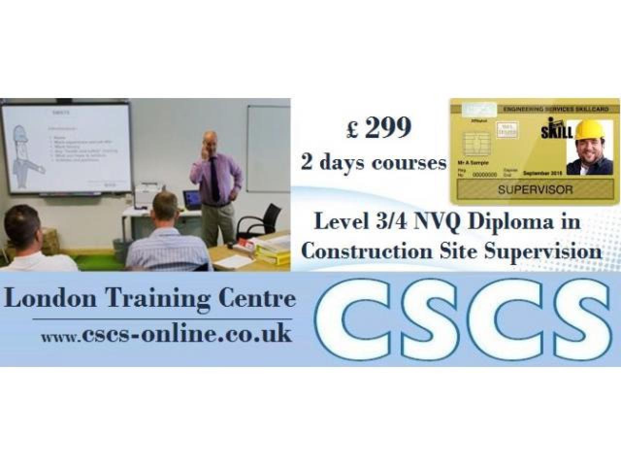 Курс Site Supervisors' Safety Training Scheme (SSSTS). - 1