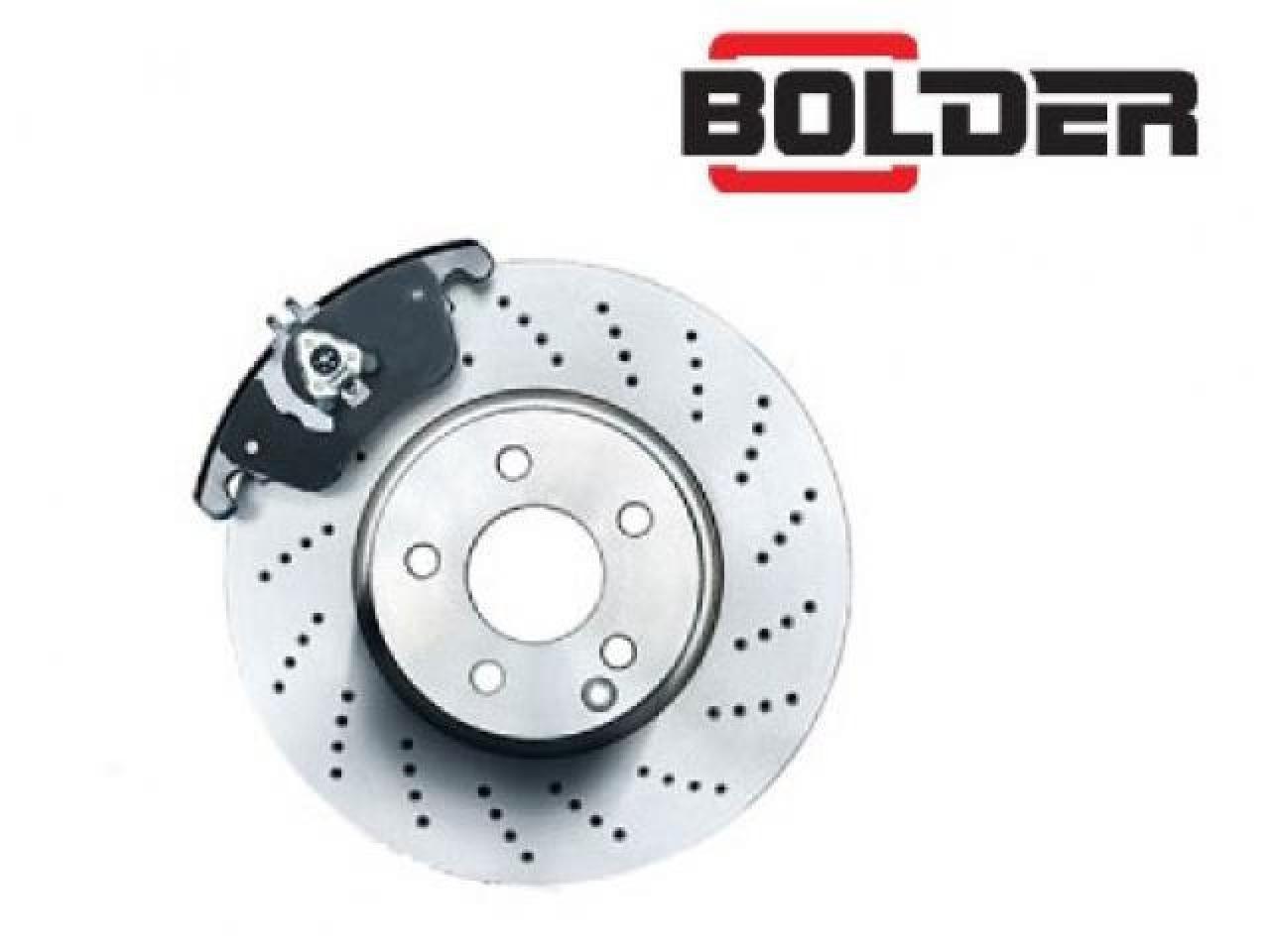 Bolder brake pads. - 2