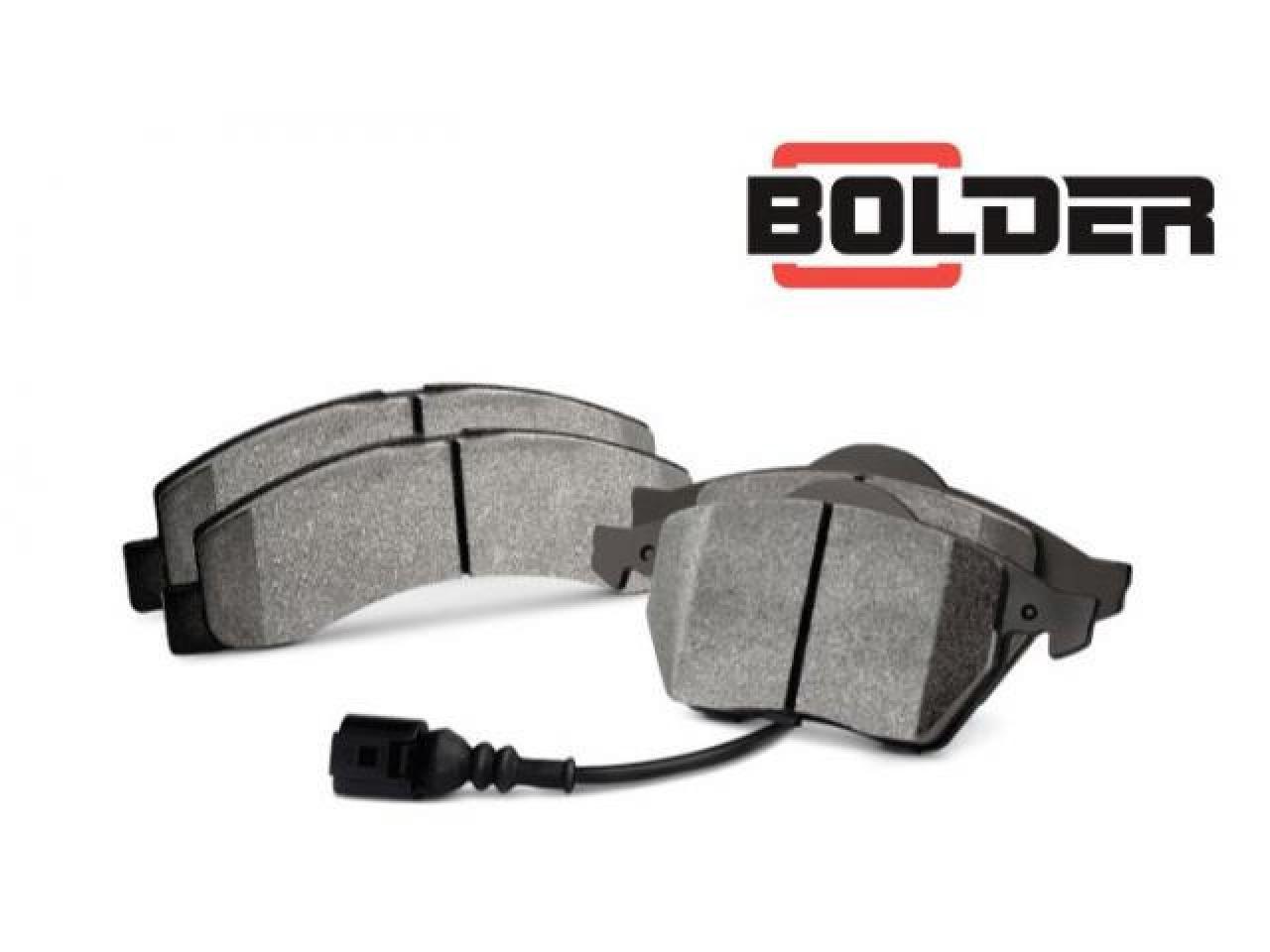 Bolder brake pads. - 3